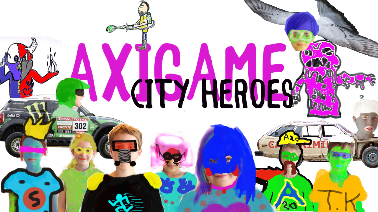 Axigame City Heroes